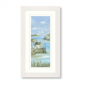 Harbour Town II Framed Print by Diane Demirici