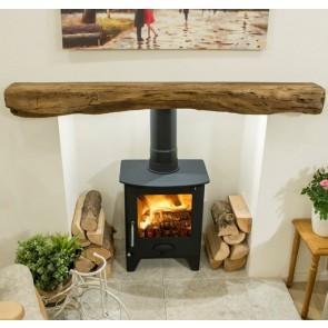 Newman Fireplace Hartland oak effect stone beam