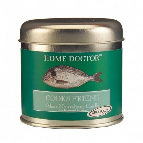 Home Doctor cook's friend candle tin