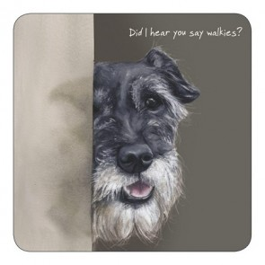 The Little Dog - Hear Coaster