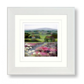 Heather Hill Small Framed Picture by Debbie Neil - Artko, UK