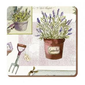 Set of 6 Herb Garden Drink Coasters