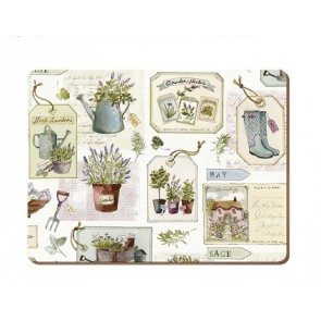 Set of 6 Herb Garden Standard Placemats