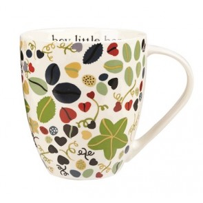 Hey Little Hen Crush Mug - Julie Dodsworth