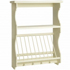 Country Kitchen Wall Unit With Plate Rack  sc 1 st  Arcade Wales Wood-burning \u0026 Multi-Fuel Stoves & Plate rack and shelves | Penny Pine | Pine Oak and Painted ...