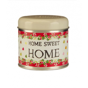 Julie Dodsworth Home Sweet Home candle tin