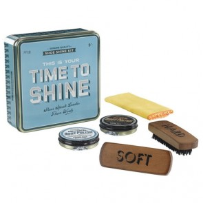 Home Front - Time To Shine - Shoe Polishing Kit