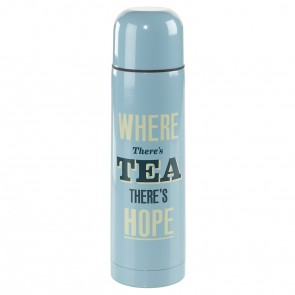 Vacuum Flask - Where there is Tea there is Hope