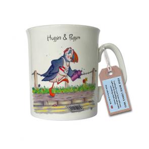Huffin & Puffin China Mug