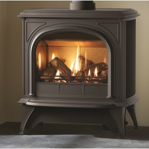 Huntingdon 40  Gas Stove Clear Door