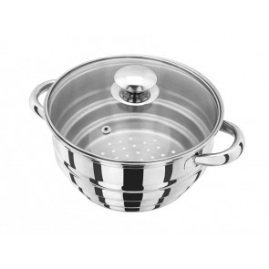Judge Multi Insert Steamer with Glass Lid