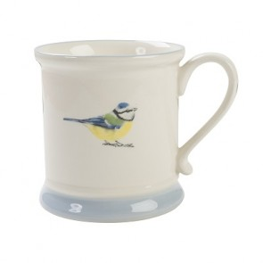 Into The Wild Stoneware Blue Tit Tankard Mug by Creative Tops
