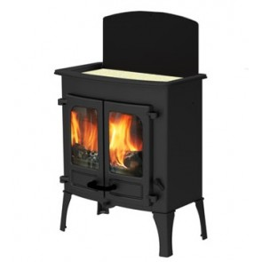 Charnwood Island 2 CT (Cook Top) Stove with high legs