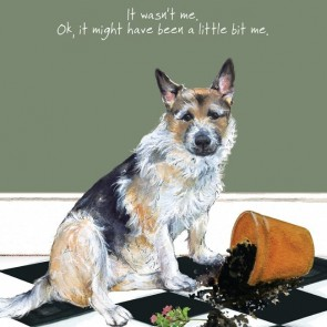 The Little Dog - It Wasn't me Gift Card