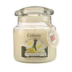 Colony Jasmine & Sandalwood Candle - Wax Lyrical