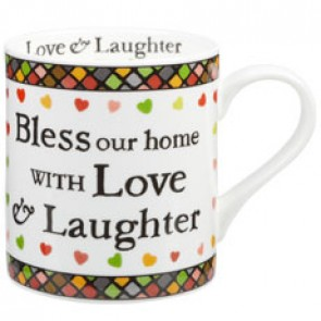 Julie Dodsworth Bless our home Mug