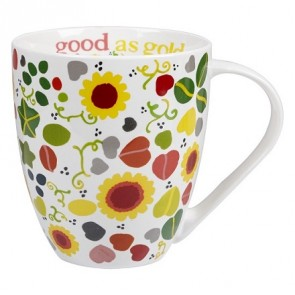 Good as Gold Fine China Mug