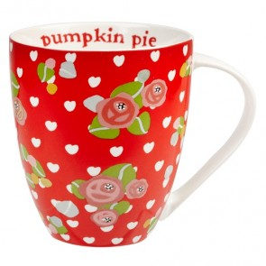 Julie Dodsworth - Pumpkin Pie Mug - Churchill China