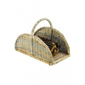 Jonka Natural Rattan Fire Wood Basket