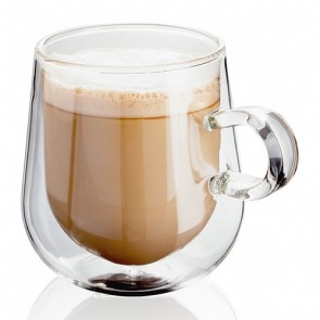 Judge Double Walled Latte Glass with 275ml capacity