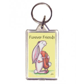 Furever Friends Keyring - Friendship