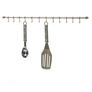 Wall Mounted Kitchen Utensil Rail