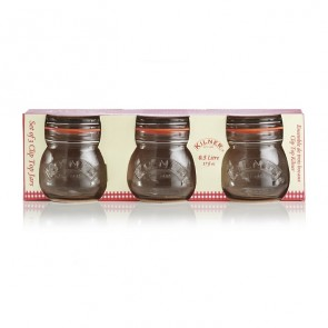 Set of 3 Clip Top - 0.5L - Kilner Preserving Jars