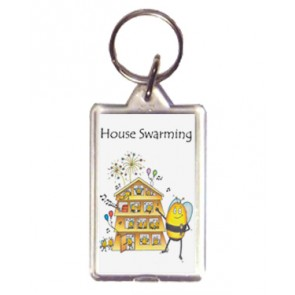 House Swarming Keyring - Compost Heap