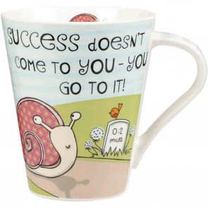 The Good Life success flight mug