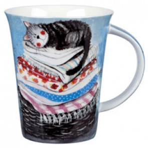Laundy Basket China Mug