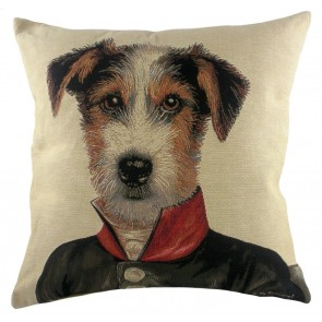 Private Russell Cushion by Evans Lichfield - Jack Russell Dog