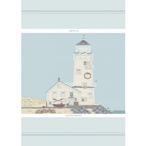 Sally Swanell Lighthouse Cotton Tea Towel