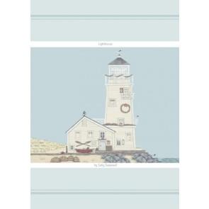 Sally Swanell Lighthouse Cotton Tea Towel