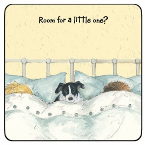 The Little Dog Little One Coaster