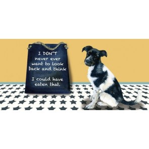 The Little Dog - Never Ever Greeting Card