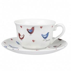 Love Bird Cup & Saucer