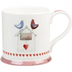 Love Birds Bird Box Mug
