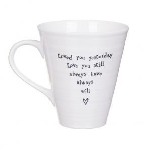 Loved you Yesterday Porcelain Mug
