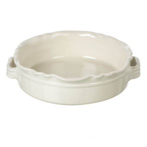 Miel Round Baker in Cream. 250mm diameter x 75mm high