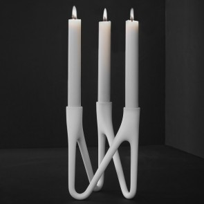 ROOTS Candlestick - WHITE