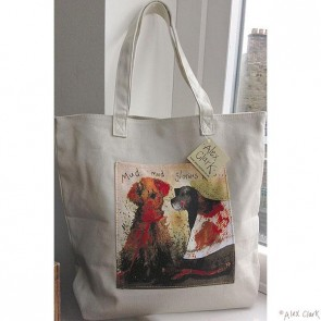 Alex Clark - Mug Glorious Mud - Canvas Shopping Carrier