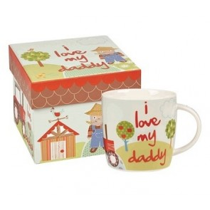 Old MacDonalds Farm Mug - I Love My Daddy
