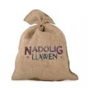 east of india nadolig llawen sack