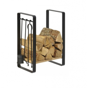Dixneuf Nagoya Log Holder & Fire Tool Set
