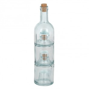 Stackable Oil and Vinegar Bottles