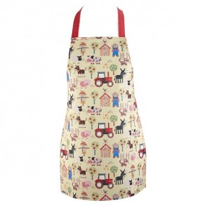 Old MacDonalds Farm Kids Apron