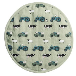 Sophie Allport On the Farm Hob Cover - 38cm diameter