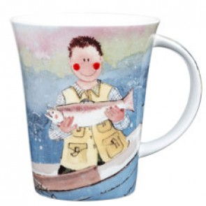 Out on the Lake Fisherman Mug