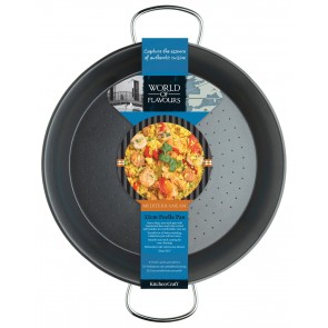 World of Flavours Paella Pan 32cm