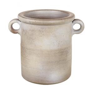 Parlane Barrow Ceramic Planter in Taupe